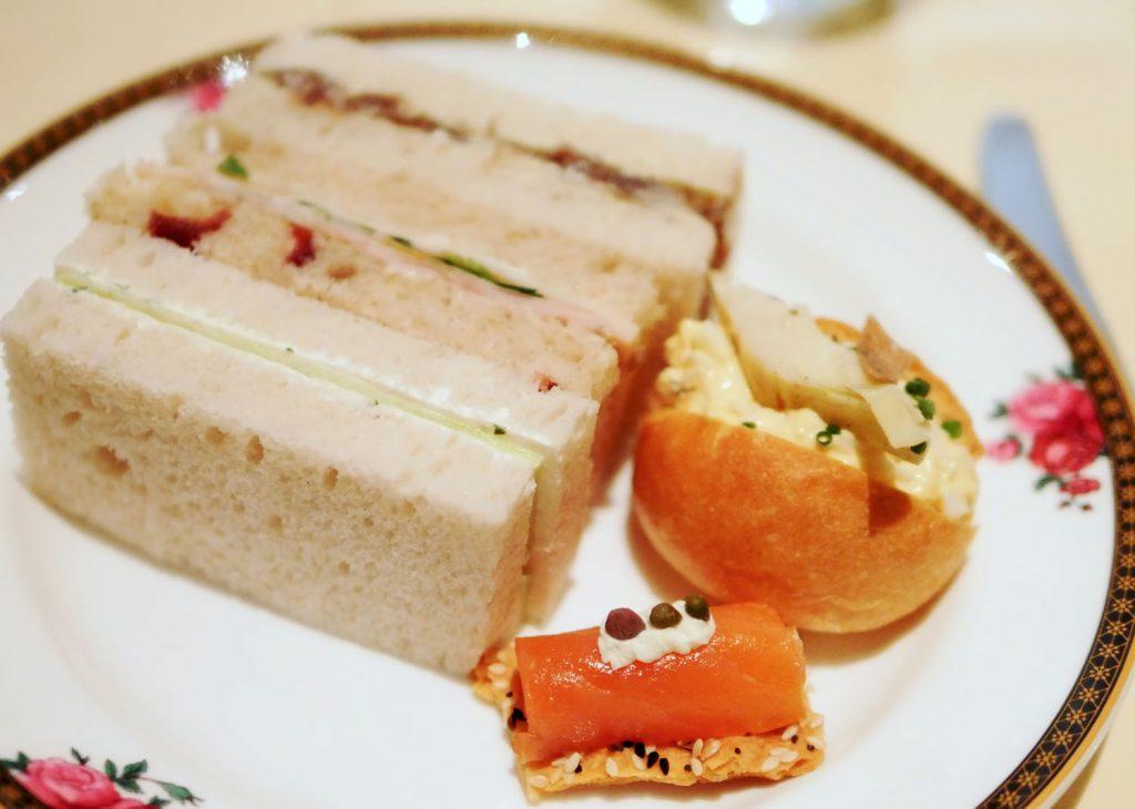 Langham Hotel Sandwiches