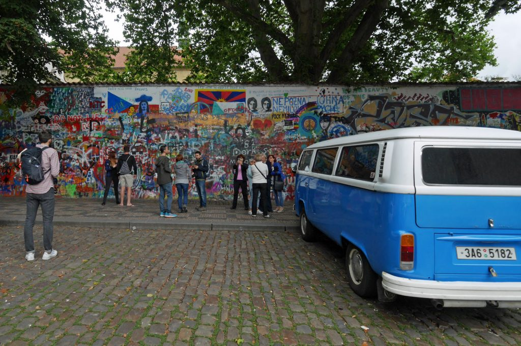 Lennon Wall Prague