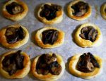 Mushroom tartlettes