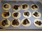 Mushroom tartlettes 2