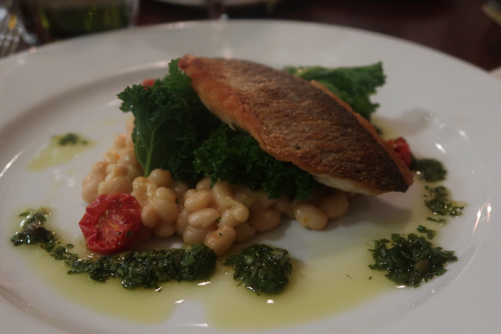 Pan Seared Sea Bream - The Arden Hotel