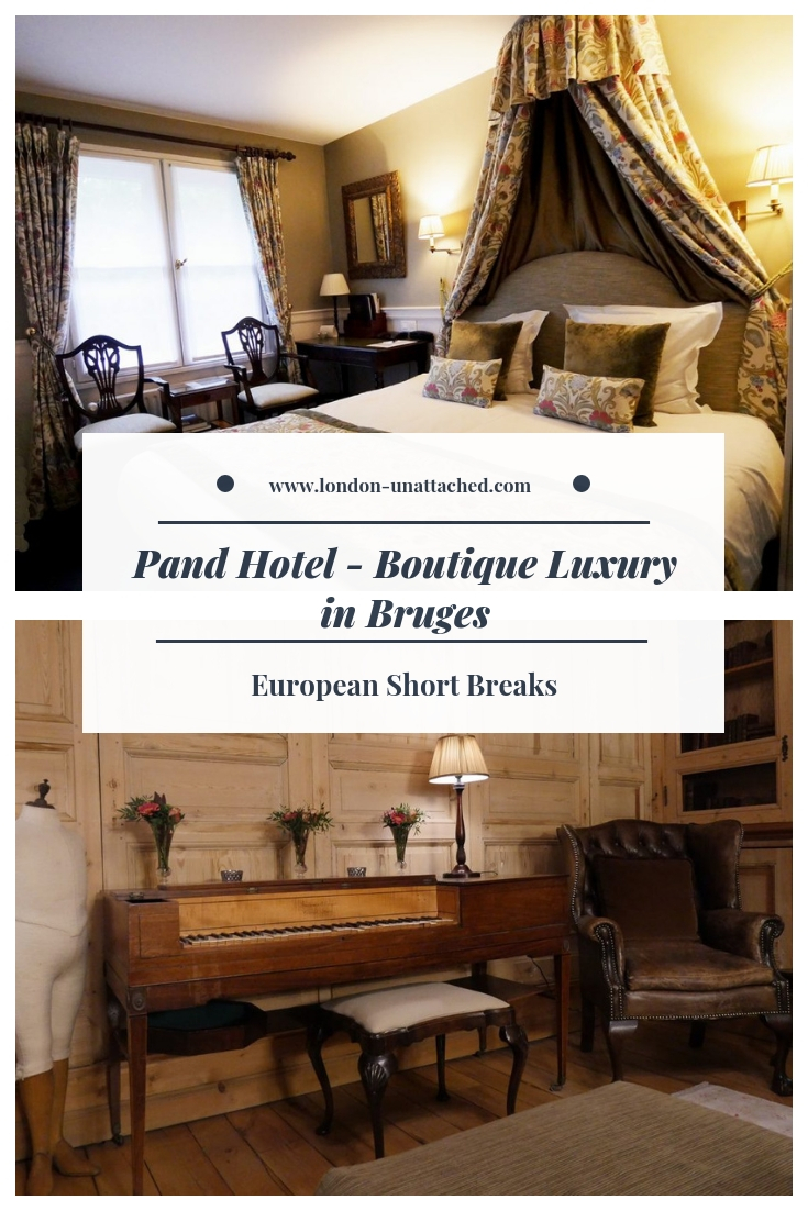 Pand Hotel - Boutique Luxury Hotel in Bruges