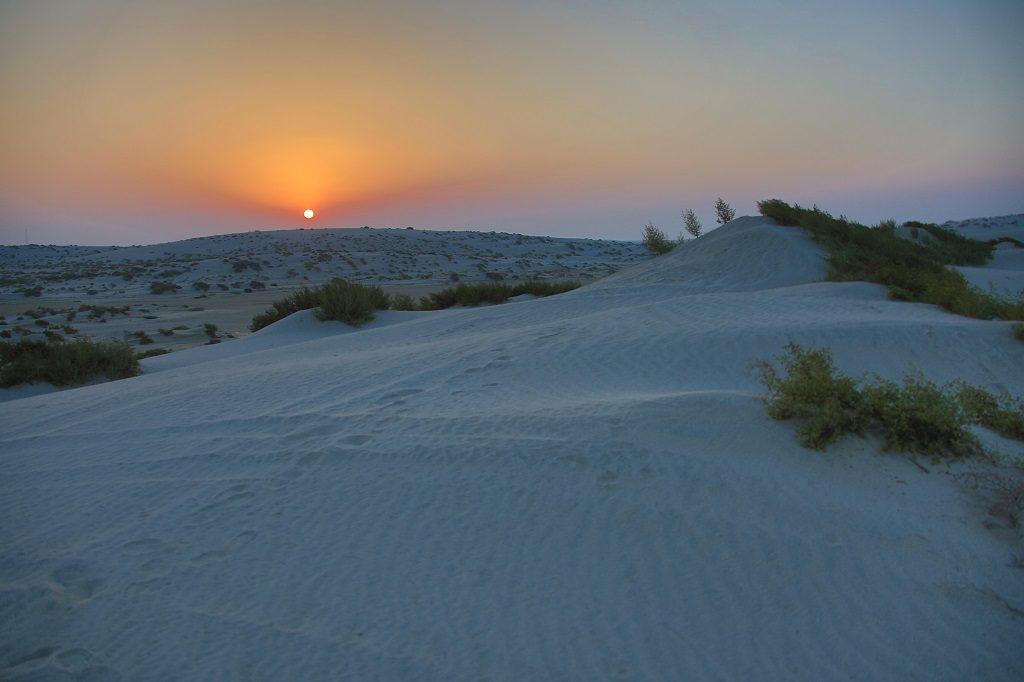 Qatar Doha Desert Sunsets