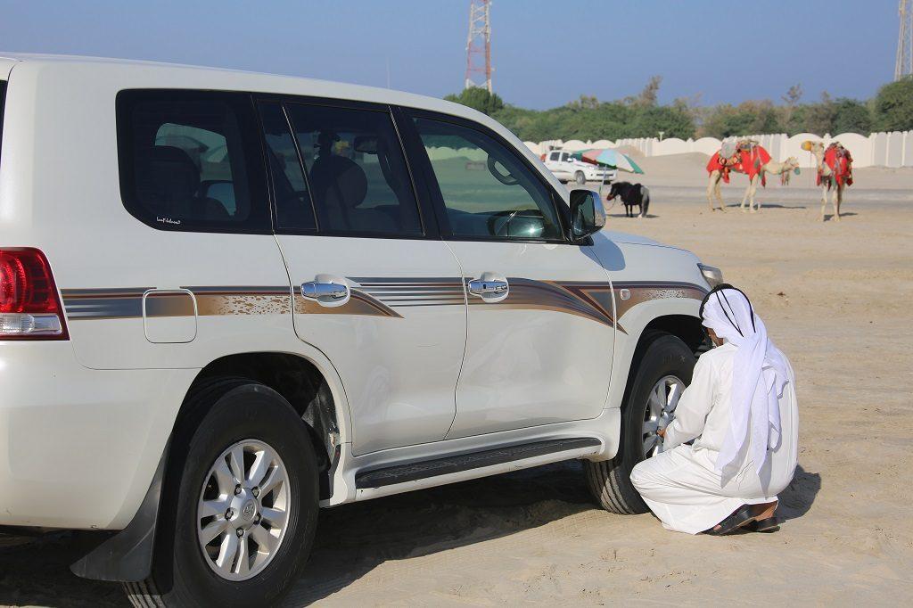 Qatar Doha Dune Bashing Tyres