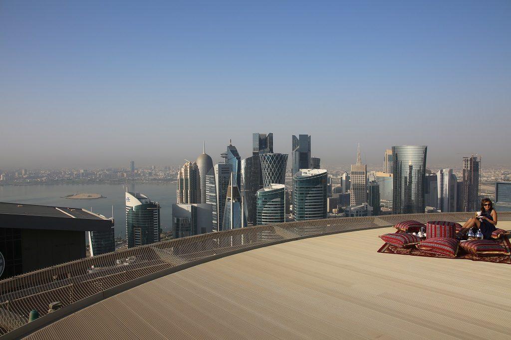 Qatar Doha Shangri La Helipad