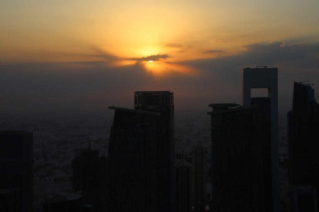 Qatar Doha Shangri La Sunset