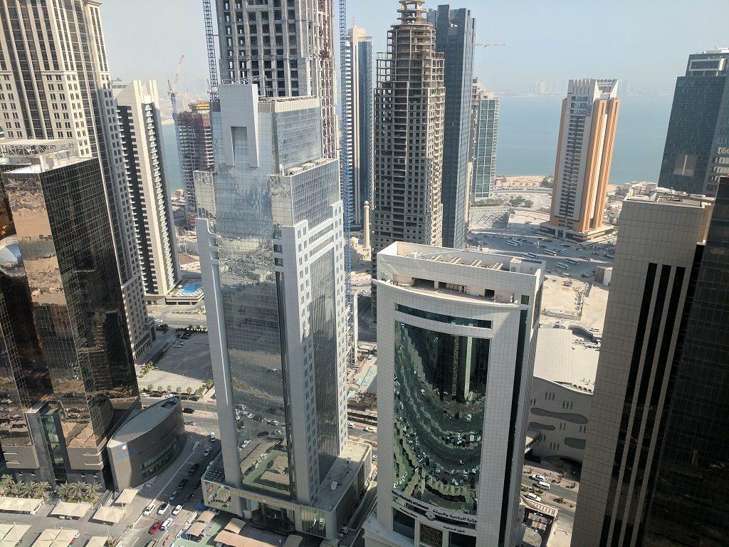 Qatar Doha Shangri La View stopover