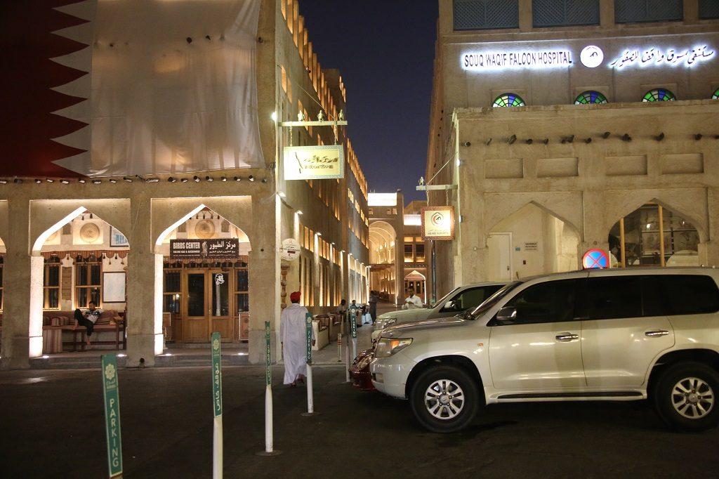 Qatar Doha Souq Waqif Falcon Hospital
