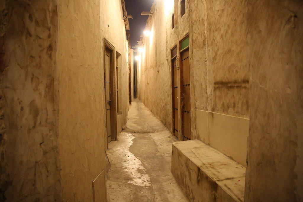 Qatar Doha Souq Waqif Narrowing Street