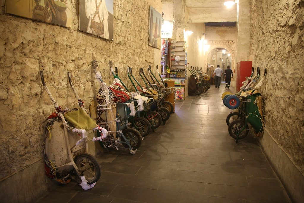 Qatar Doha Souq Waqif Wheel Barrows