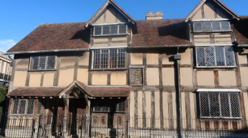 Stratford Shakespeare's birth place