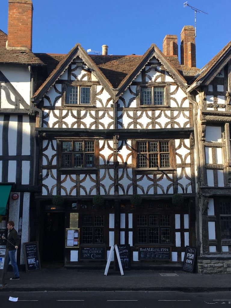 The Garrick pub Stratford