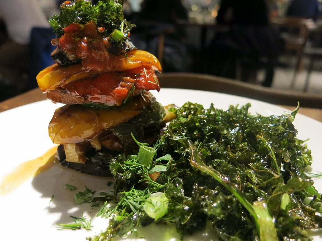 The Real Greek Grilled Vegetable Sweet Potato Stack