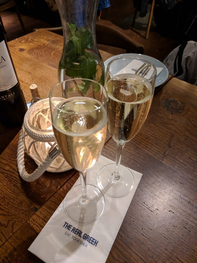 The Real Greek Restaurant Reading Prosecco