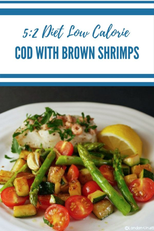 5_2 diet recipe baked cod with shrimp _ low calorie cod with shrimp