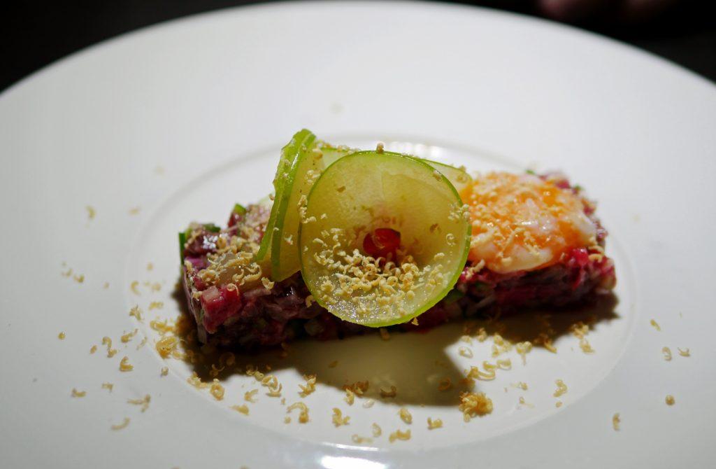 Beef Tartare Shave Foie Gras M Restaurant and Bar Victora