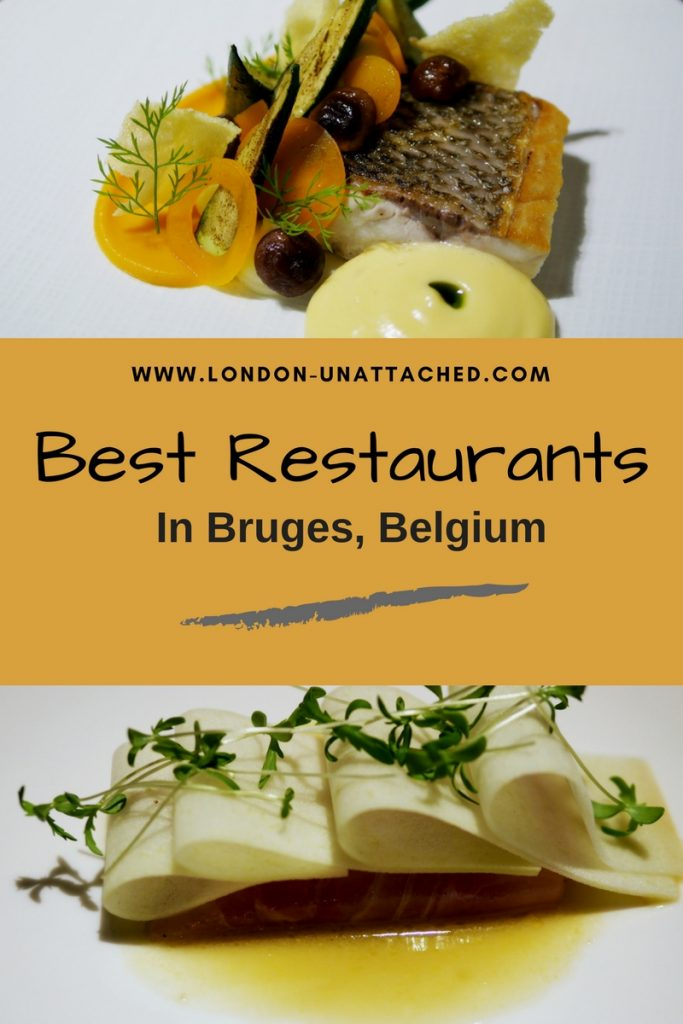 Best Restaurants Bruges Belgium