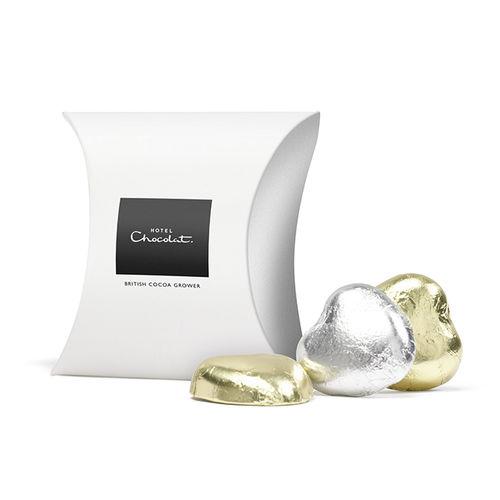 Chocolate Foil hearts hotel chocolat
