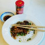 Chiu chow Chilli Oil - pork stir fry