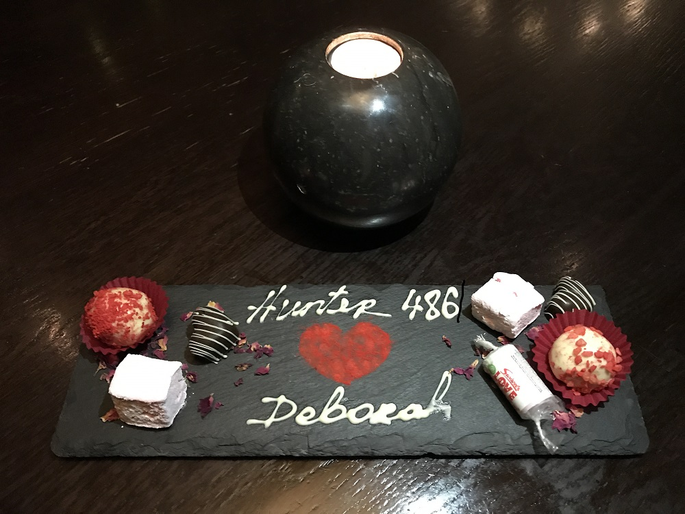 Hunter486 Petit Fours - The Arch London