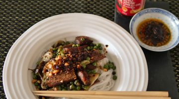 Ignite and Excite – a Sichuan Style Noodle Dish