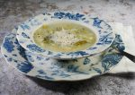 Diet Leek and potato soup
