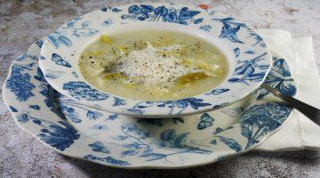 Low Calorie Leek and Potato Soup