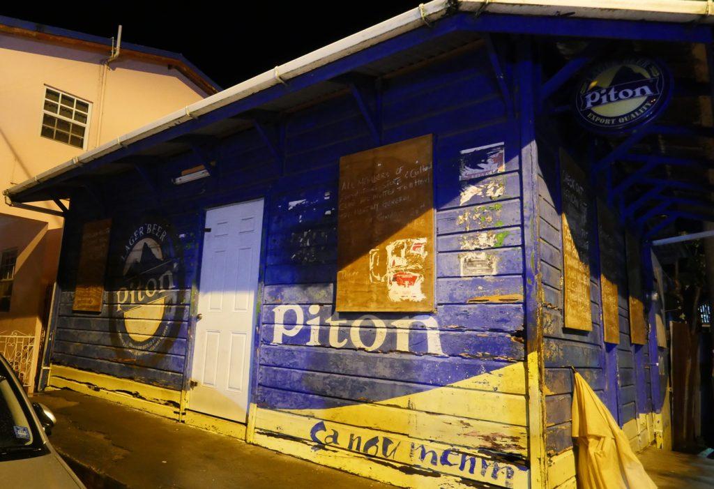 Piton Beer Anse La Raye - St Lucia