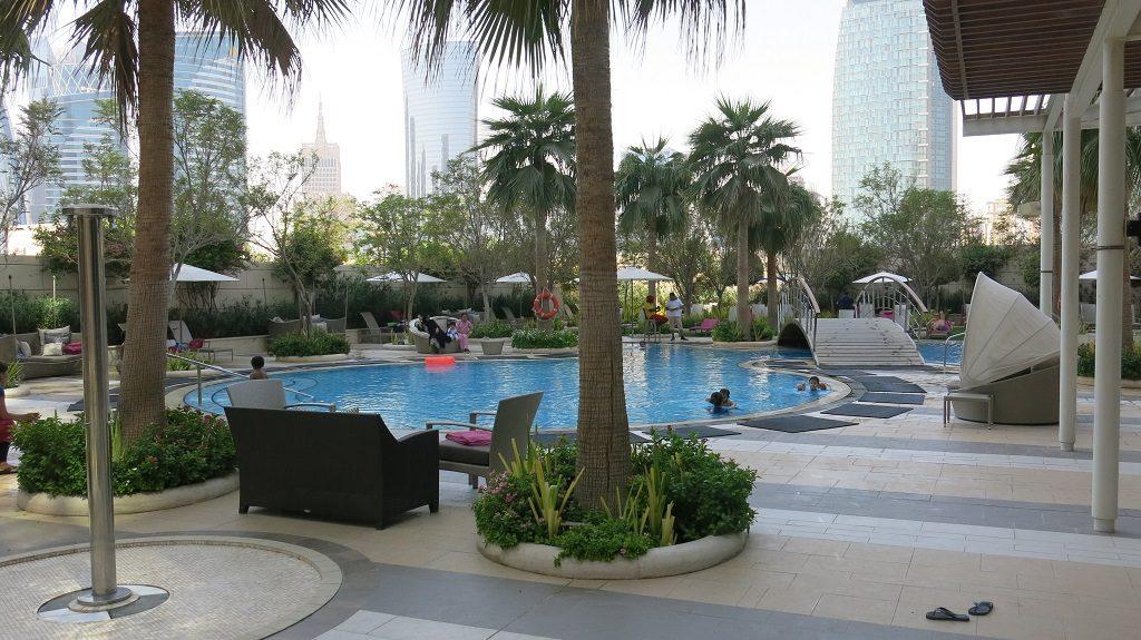 Shangri La Doha Hotel Pool Qatar