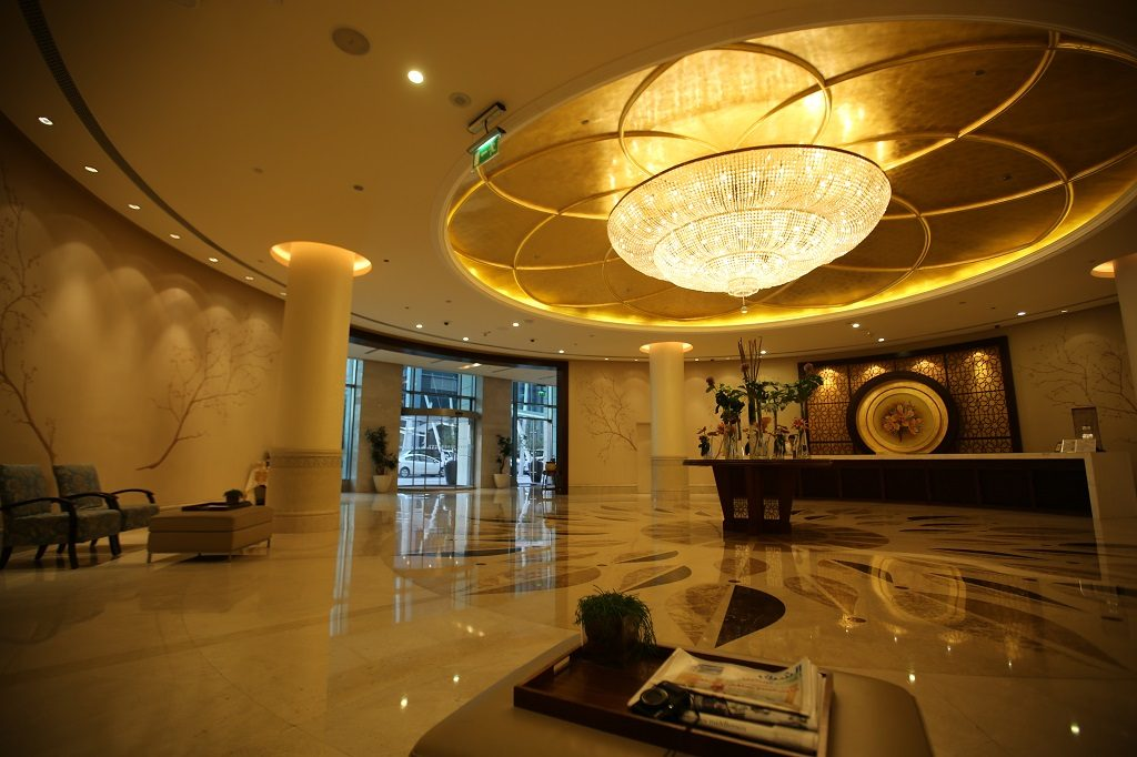 Shangri La Doha Hotel Reception