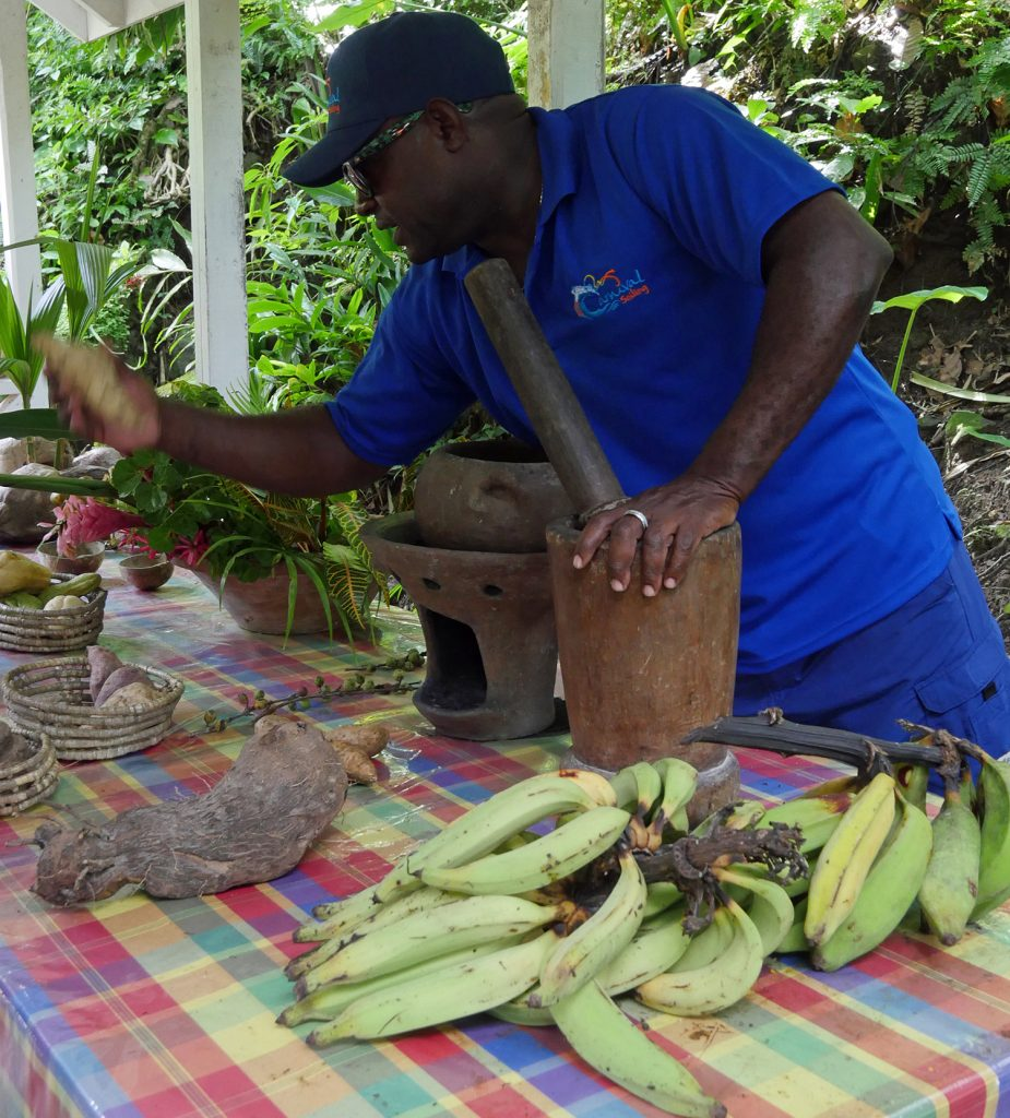 St Lucia Produce Soufriere Botanical Gardens