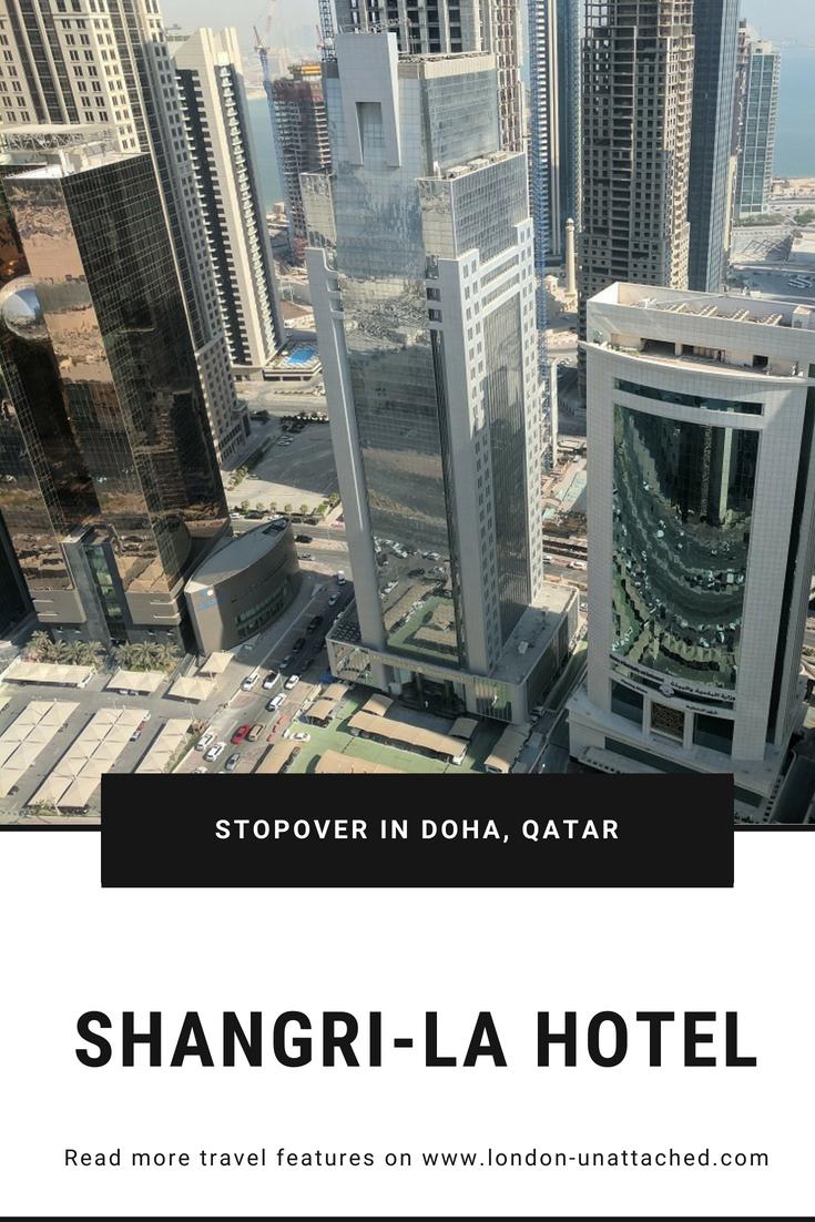 Stopover Doha Qatar - Shangri-La Hotel
