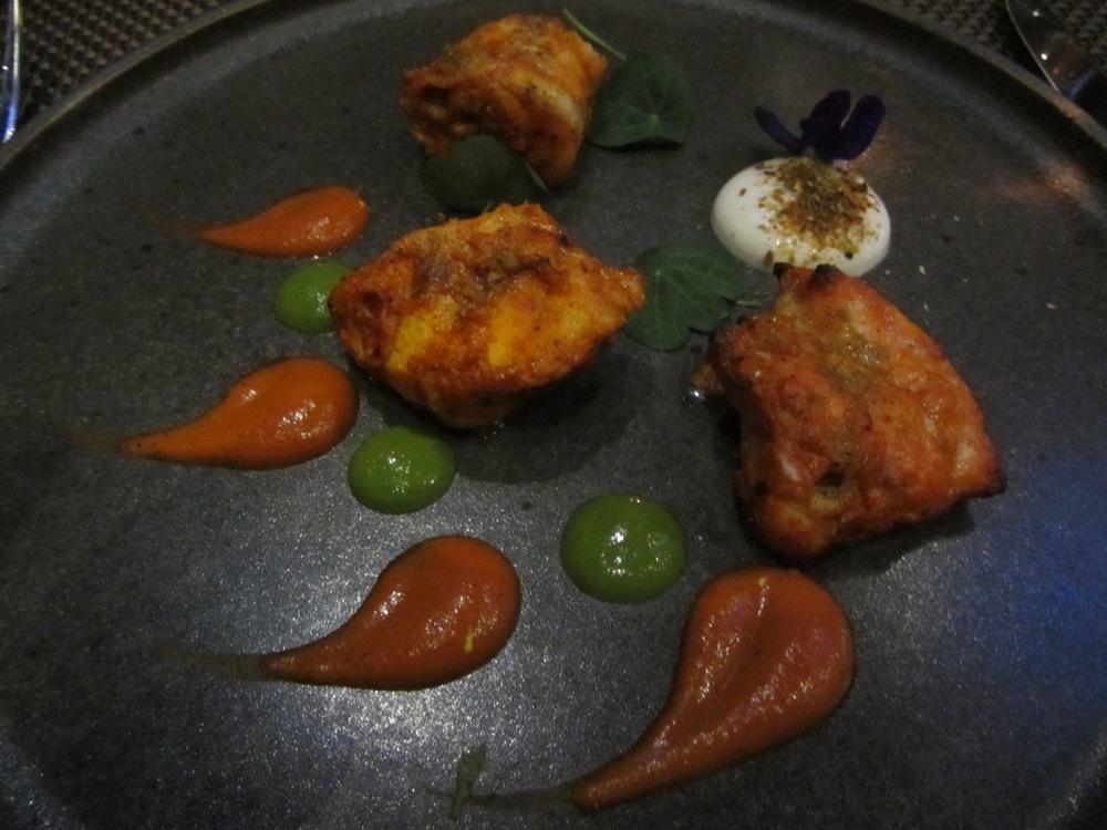 Baluchi - monkfish starter