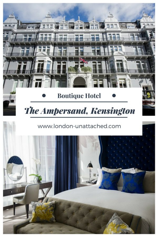 Ampersand boutique hotel south kensington london top for New boutique hotels london