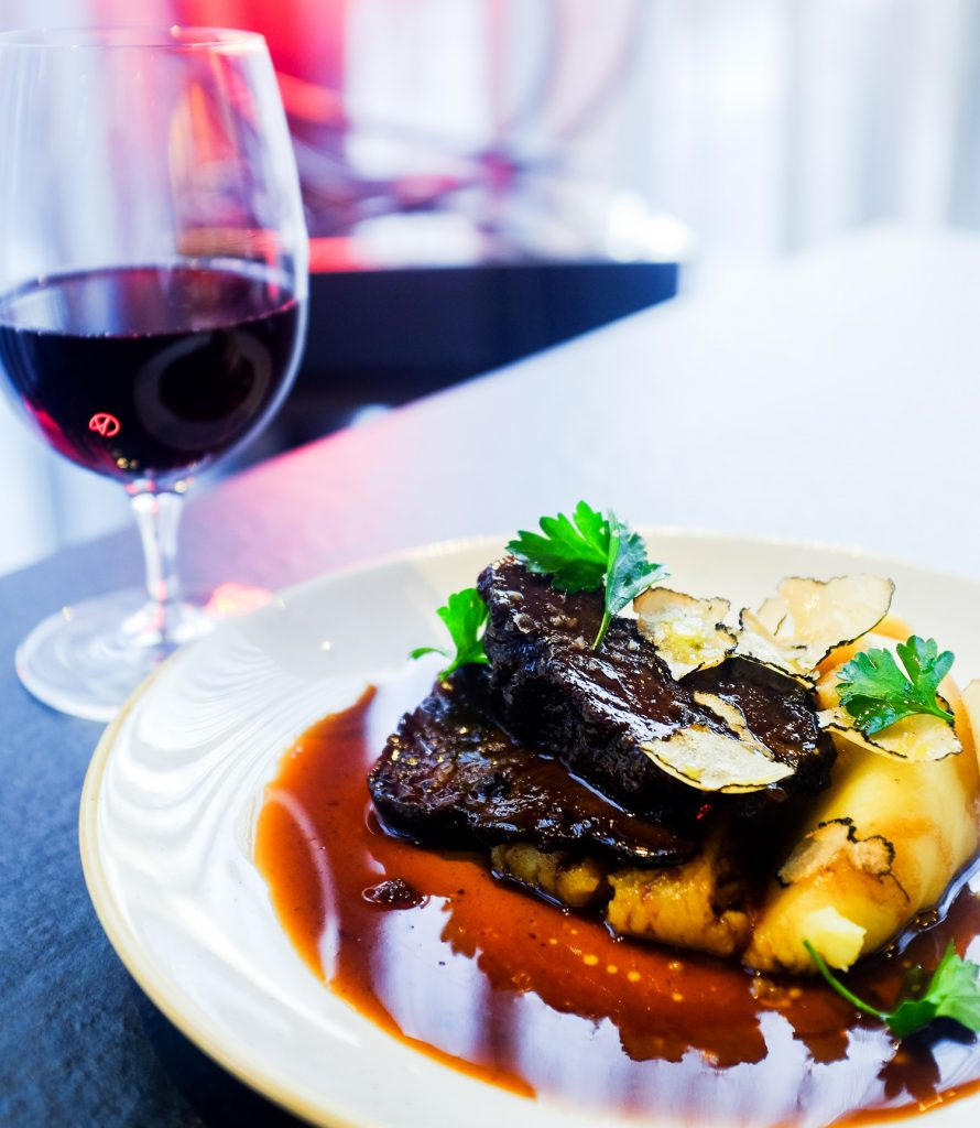 Florentine Restaurant braised ox cheek