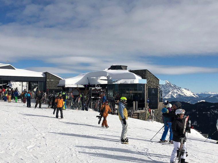 Hendl Fischerei mountain restuarant Leogang Austria