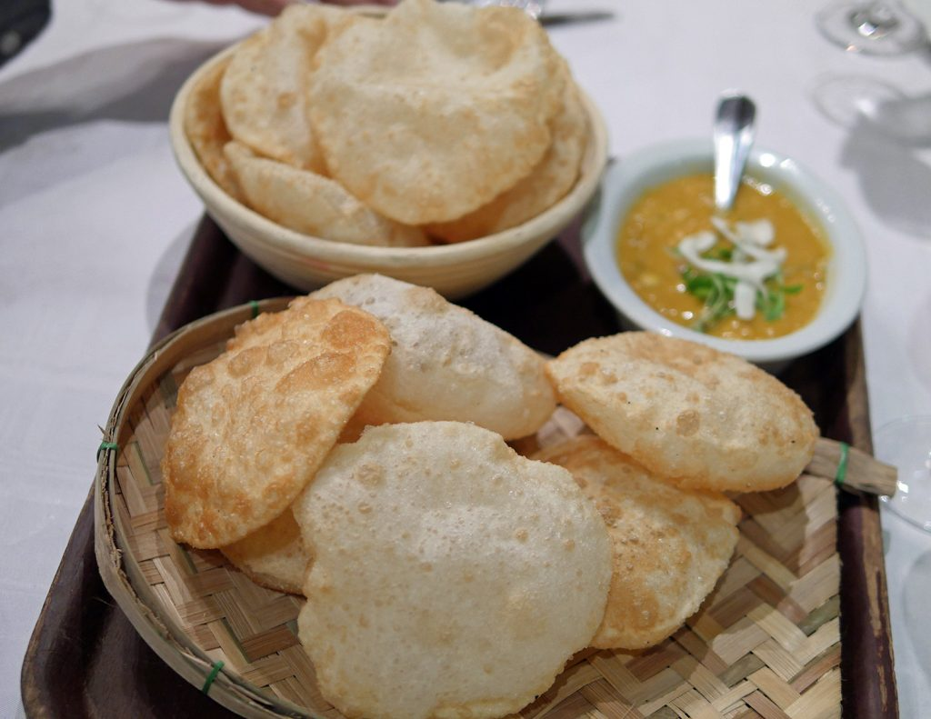 Little Kolkata Indian supper club London luchi and cholar daal