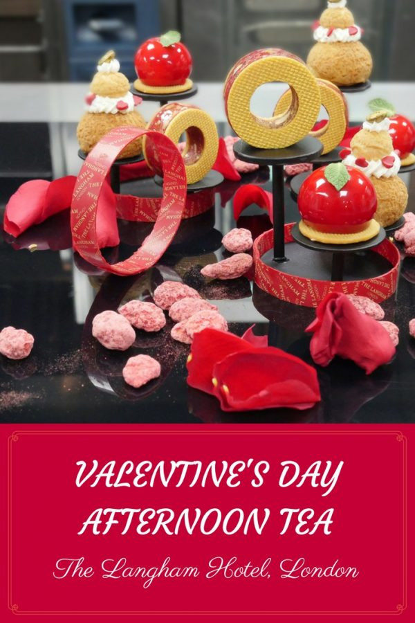 Langham Hotel London - Luxury Valentines Afternoon Tea