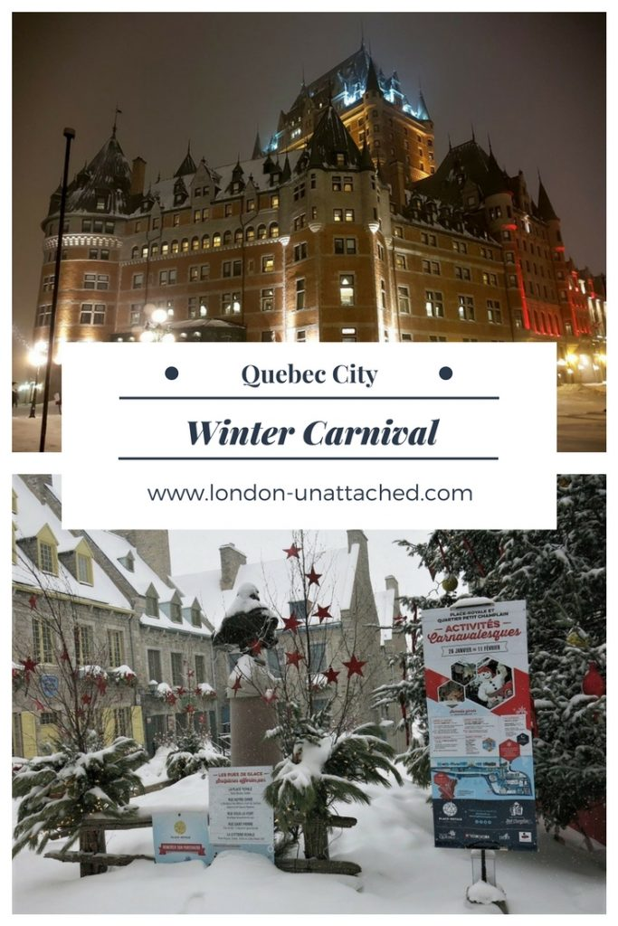 Quebec, Canada - Winter Carnival