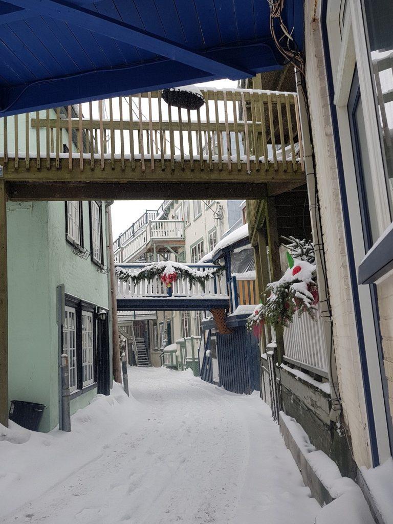 Quebec City Snowy Streets