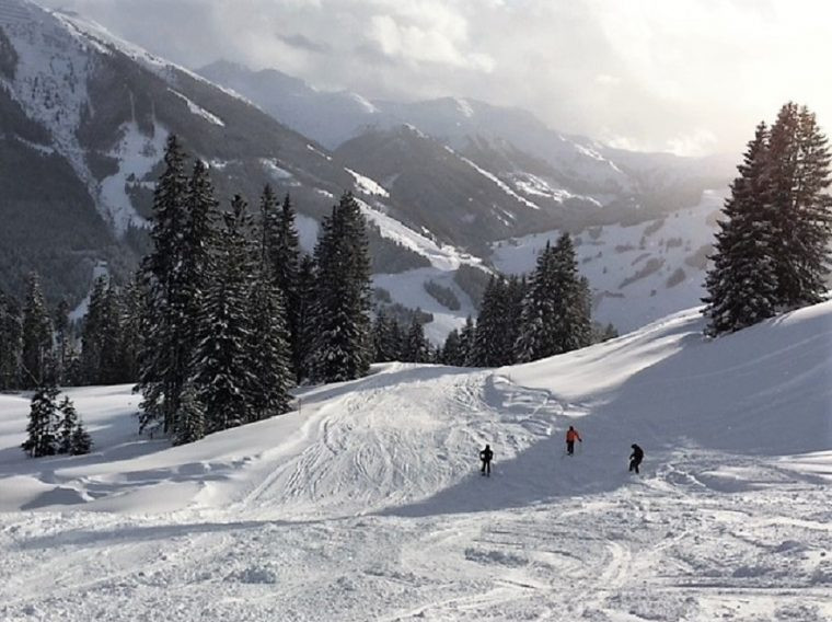 Piste 36a The hidden piste Saalbach Austria - ski in Saalbach/Hinterglemm