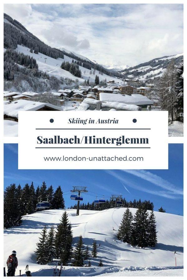 Saalbach Hinterglemm Austria - ski in Saalbach Hinterglemm