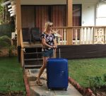My American Tourister Suitcase goes to Goa