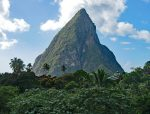 St Lucia from Boucan Hotel Chocolat - Copy