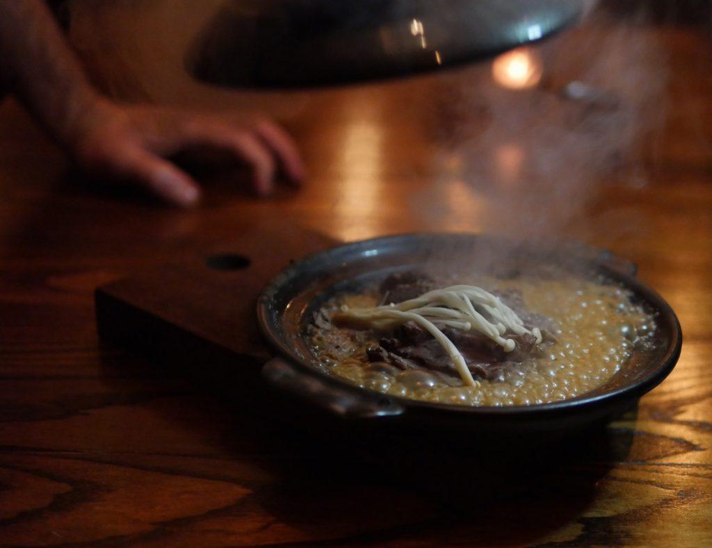 UKAI Beef Toban Yaki - Notting Hill Japanese Restaurant