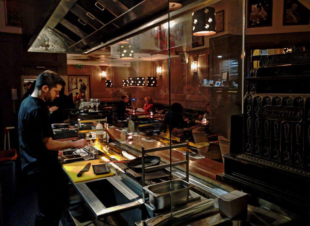 UKAI open kitchen - Japanese izakaya Notting Hill