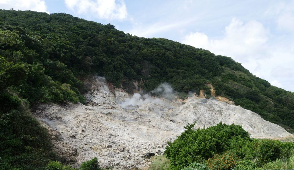 Volcano Crater St Lucia