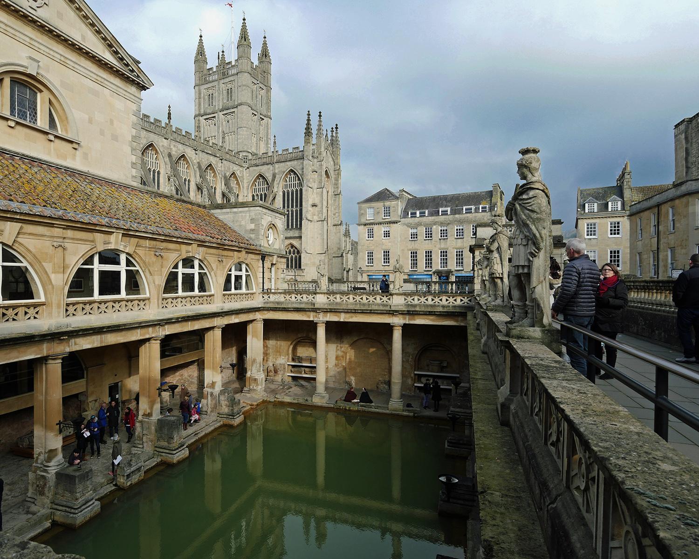 Bath Spa Roman Baths Exterior