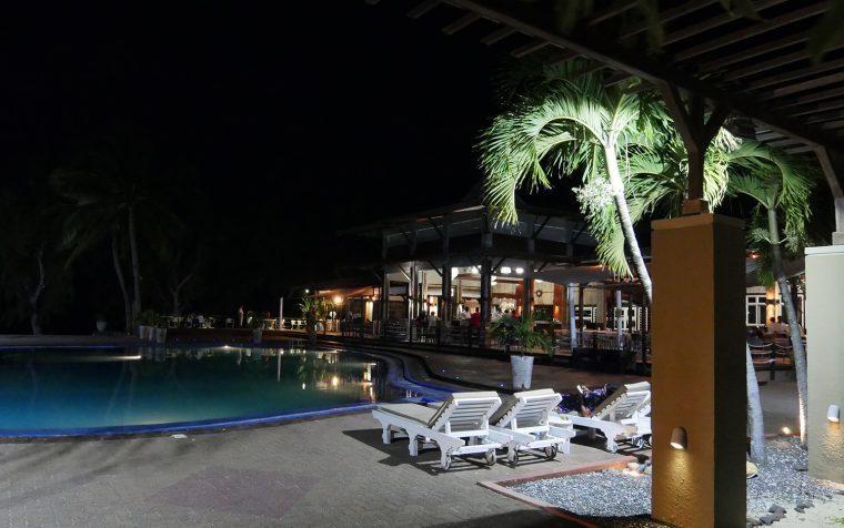 Cotton Bay Hotel at Night - Rodrigues