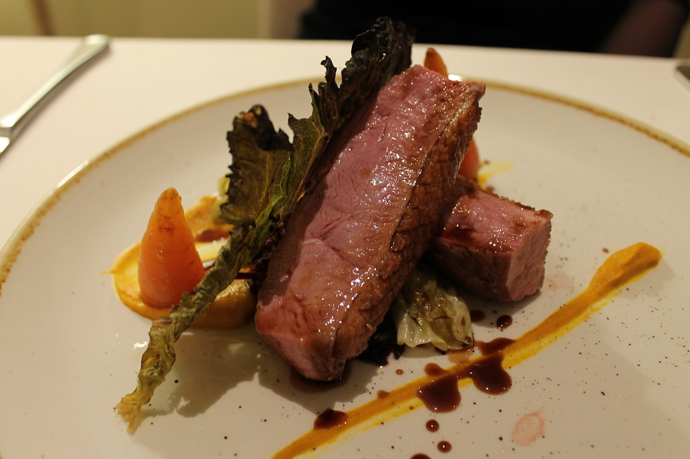 Cotswold House Hotel & Spa - duck and red cabbage